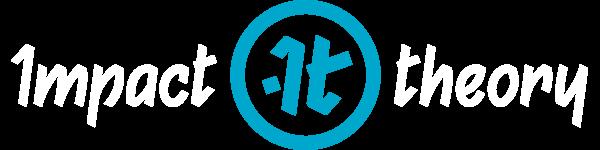 Impact Theory Logo (White Text)