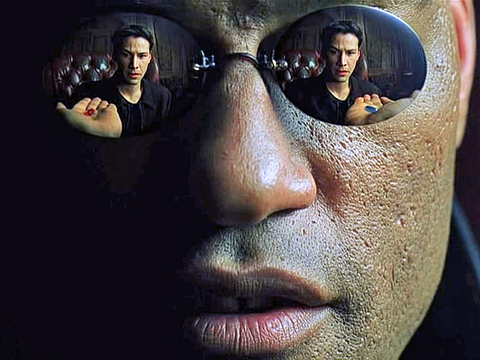 How to Bend Your Brain to Your Will – Morpheus Offering the Red and the Blue Pill (The Matrix Scene) – Impact Theory