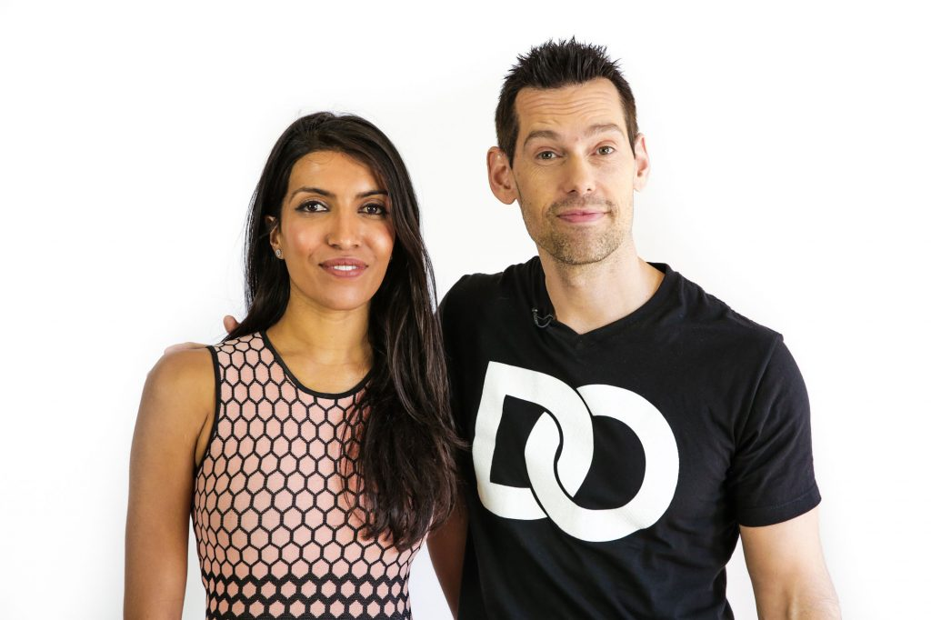 Tom Bilyeu and Leila Janah
