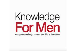 Knowledge for Men (Press Logo)