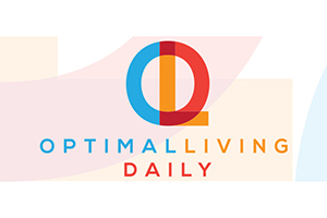Optimal Living Daily Podcast (Press Logo)