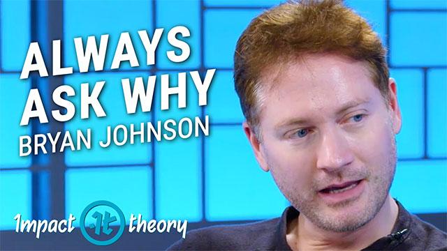 Bryan Johnson on Impact Theory with Tom Bilyeu