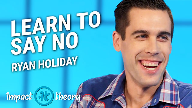 Ryan Holiday on Impact Theory with Tom Bilyeu