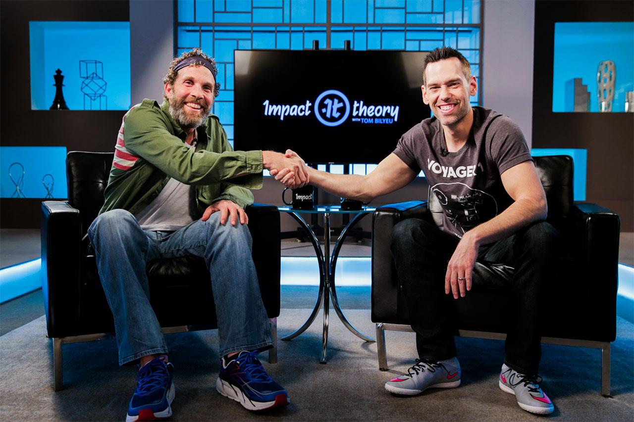 Jesse Itzler on Impact Theory with Tom Bilyeu