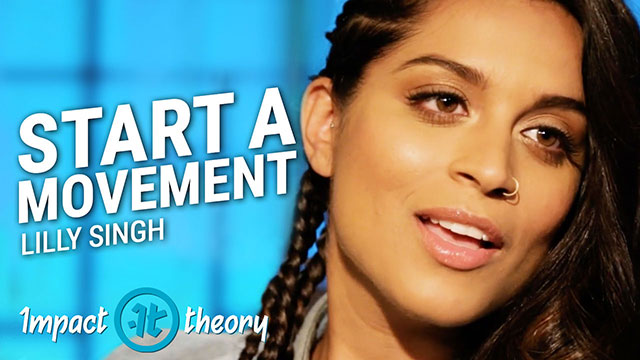 Lilly Singh on Impact Theory with Tom Bilyeu