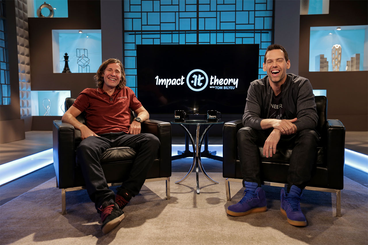 Rodney Mullen on Impact Theory with Tom Bilyeu