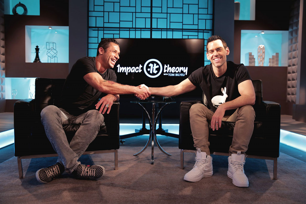 Aubrey Marcus on Impact Theory with Tom Bilyeu